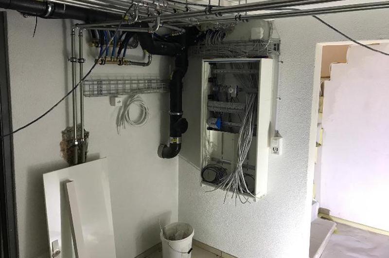 Elektroinstallation, Lichtinstallation, Netzwerkinstallation, Foxart